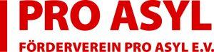 2014 Pro Asyl Logo FördervereinPA+FV_4C