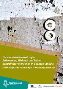 Broschüre des Flüchtlingsrat Sachsen-Anhalt