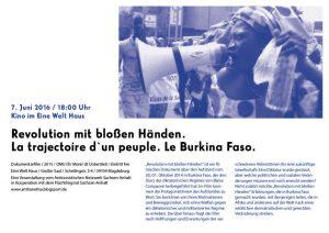 2016_06_07_Burkina Faso Filmabend_Plakat_web
