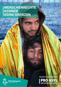 "PRO ASYL-Heft zum ""Tag des Flüchtlings 2016"""
