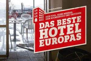 Donate for the best hotel in Europe