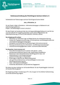 thumbnail of 170803 Stellenausschreibung Mitarbeit ROR