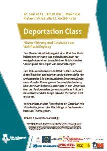 thumbnail of deportation class flyer