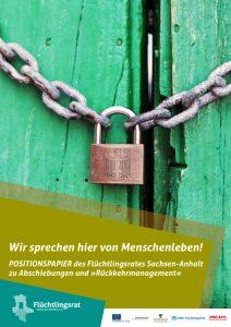 Positionspapier zum Umgang mit Fluchtgründen, Anerkennung und Ausreisepflicht in der BRD und Sachsen-Anhalt