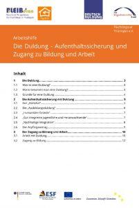 thumbnail of FluechtlingsratThueringen_Arbeitshilfe_Duldung_Deutsch_Juli2017