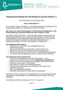 thumbnail of 180516 Stellenausschreibung Mitarbeit ROR