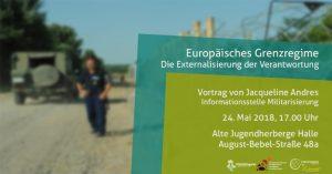 Vortrag zum europäischen Grenzregime
