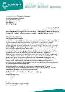 thumbnail of FR LSA_Stellungnahme zum Leitfaden Gewaltschutz