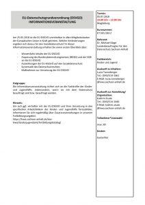 thumbnail of EU-Datenschutzgrundverordnung-Infoveranstaltung
