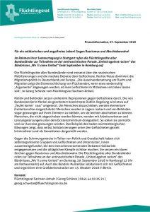 thumbnail of 180907 FR ST PM Sommertagung der Flüchtlingsräte – Aufruf gegen Rassismus