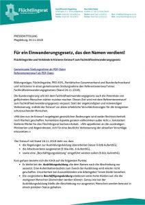 thumbnail of 181130_FR-ST_PM_Stellungnahme zum Entwurf für ein Einwanderungsgesetz