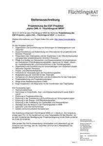 thumbnail of Stellenausschreibung ESFNov18