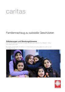 thumbnail of 1811_CARITAS_Arbeitshilfe Familiennachzug zu subs. Schutzberechtigten Stand 11-2018