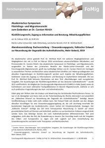 thumbnail of Programm Symposium C.H