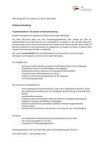 thumbnail of Stellenausschreibung-Roma-2019-Elternzeitvertretung