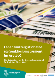 flueRaLSA_Lebensmittelgutscheine_Sanktionsinstrument_AsylbLG_11_2020_Satz_V3a_web_titel